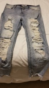 Boutique distressed Jean's, size 14